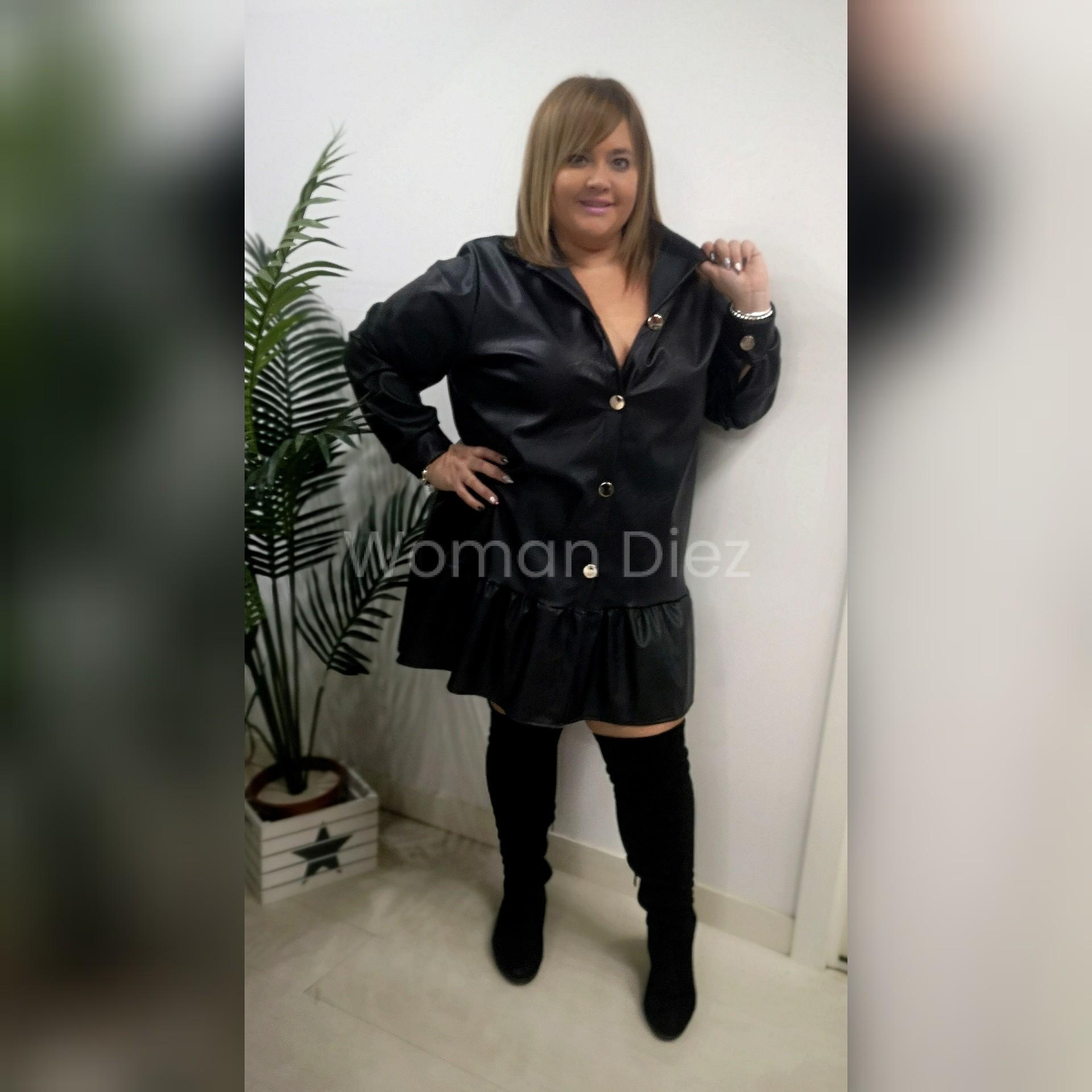 Vestido  Black pólipiel