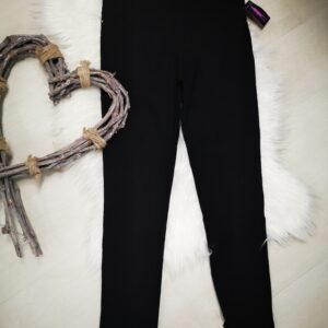 Pantalon elastic Negro