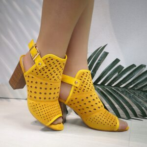 Botín /Tacón Yellow