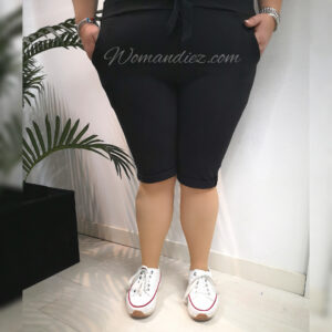 Pantalon elastic cortos