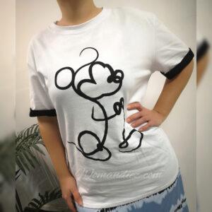 Camiseta Silueta