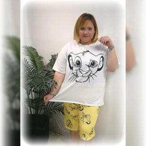 Pijama Rey León