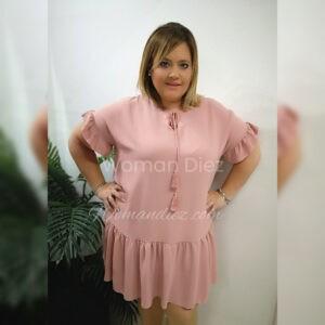 Vestido Grecia pink
