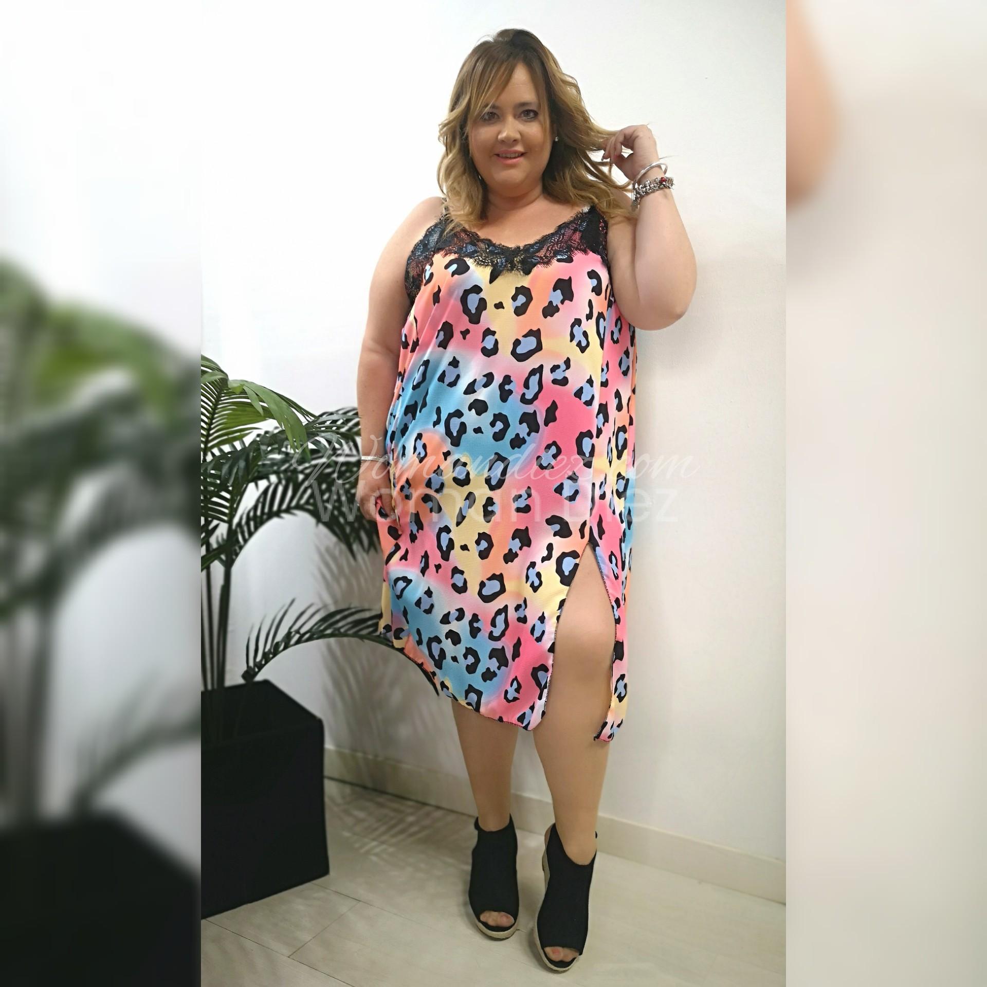 Vestido  Lencero Maxi Multicolor