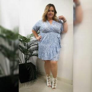 Vestido Rocio Azul