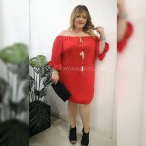 Vestido Budapest Rojo
