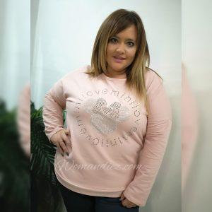 Sudadera Mini-pink